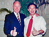 With Tony Buzan